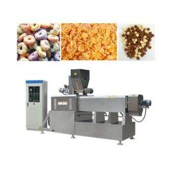 Automatic Dry Soya Vegetarian Mock Meat Flake Pieces Making Machine