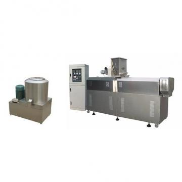 Tvp Vegetable Meat Textured Soya Nugget Chunks Protein Making Machine