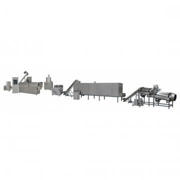 Industrial Double Screw Extruded Bread Crumbs Snack Food Production Line