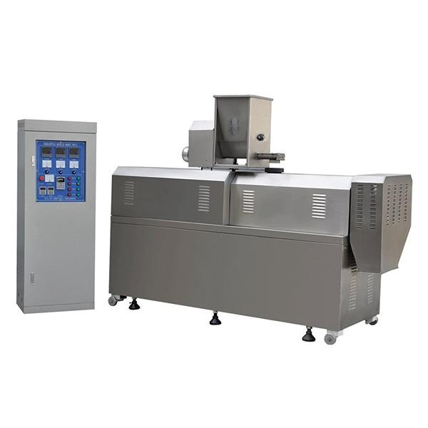 Automatic Tsp Tvp Machinery Textured Soy Bean Meat Analog Protein Soya Chunk Nugget Mince Extruder Making Machine #1 image