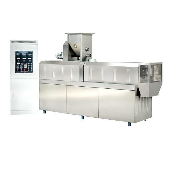 Factroy Price Wheat Maize Corn Rice Flour Puffed Snack Food Extruder Making Production Machinery #1 image