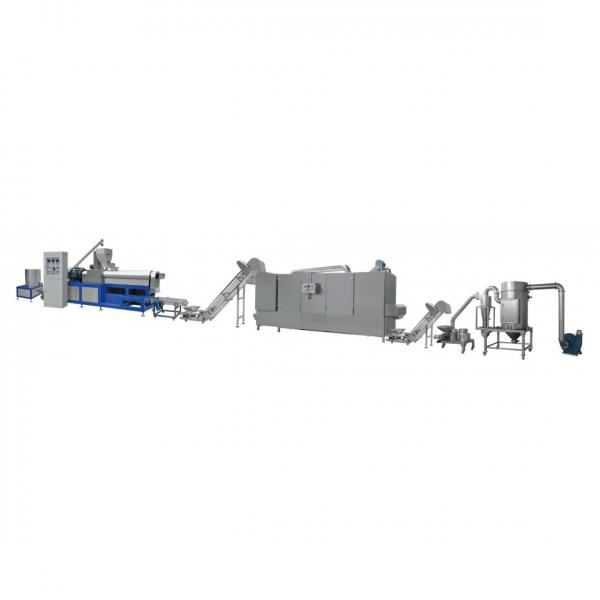 Slanty Snack Bar Corn Chips Puff Snack Food Extrusion Machine #1 image